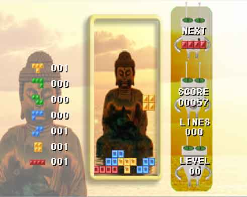 Buddha Tetris Meditation Game