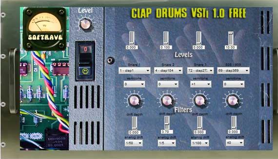 CLAP DRUMS VST